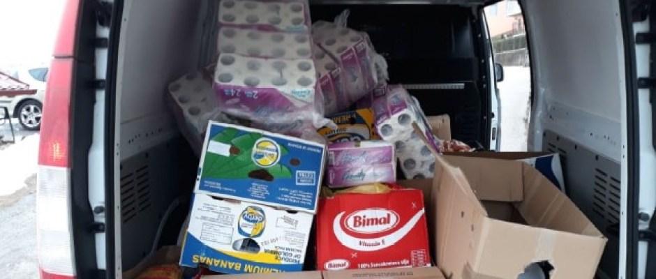 U Bosanskoj Krupi podijeljeno 100 paketa socijalno ugroženim porodicama