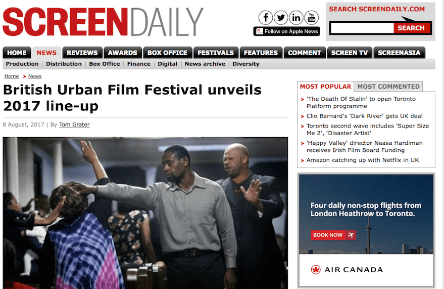 @screendaily features @buffenterprises festival line up
