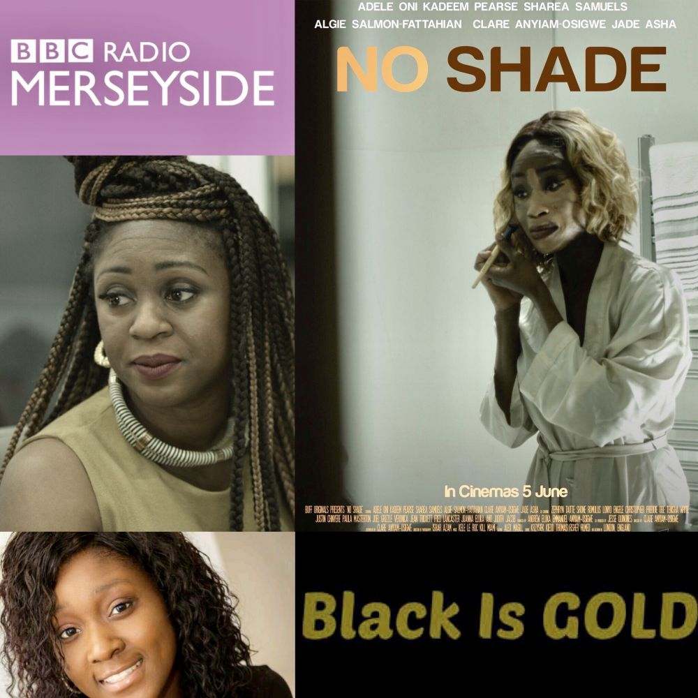 @Clareanyiamo interviews by @bbcmerseyside about Colourism themes of colourism in @noshadefilm