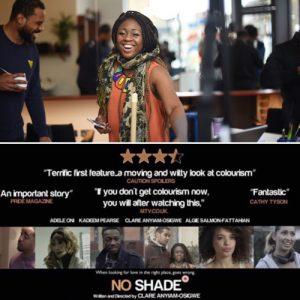. @cautionspoilers interviews @noshadefilm Writer/Director/Actress @clareanyiamo #FemaleFilmmakerFriday