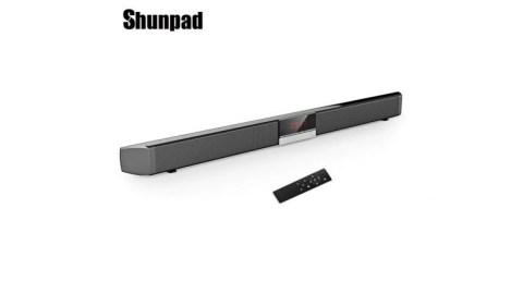 Shunpad S R100 wireless bluetooth soundbar 788x443 - Shunpad S - R100 Wireless Bluetooth Soundbar Speaker with LED Display - BLACK EU PLUG Gearbest Coupon