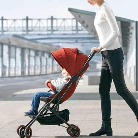 29% off Xiaomi Zhixing KS1701 Foldable Baby Stroller – BEAN RED Gearbest Coupon [Israel-Arabic]