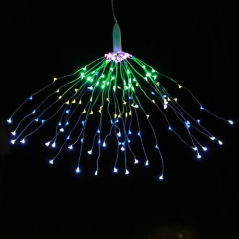 52% off Utorch Fireworks Style Copper Line String Light – SILVER COLORFUL LIGHT Gearbest Coupon Promo Code