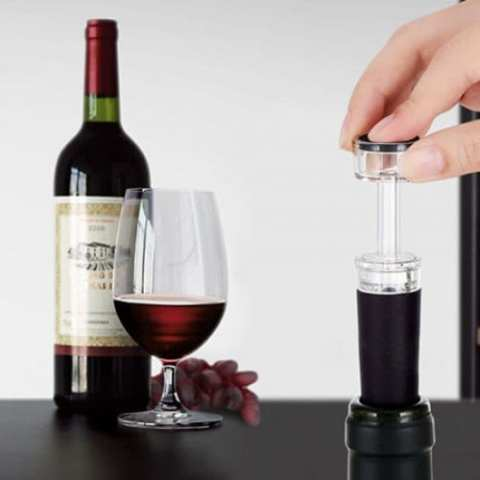 38% off SW – VS05S Wine Vacuum Stopper – BLACK Gearbest Coupon Promo Code
