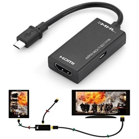 63% off gocomma Micro USB to HDMI MHL Adapter – BLACK 1PC Gearbest Coupon Promo Code
