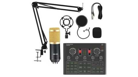 BM800 with V9X PRO - BM800 Condenser Microphone with V9X PRO Banggood Coupon Promo Code