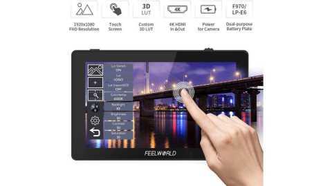 FEELWORLD F6 Plus - FEELWORLD F6 Plus 5.5 inch DSLR Camera Field Touch Screen Monitor Amazon Coupon Promo Code