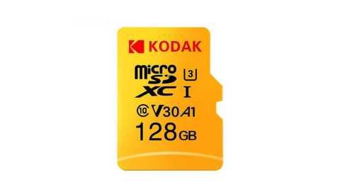 kodak micro sd memory tf flash card 128gb