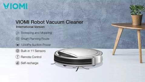 xiaomi viomi robot vacuum cleaner