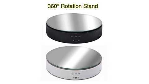 photo shoting stand - 360 Degree Electric Product Turntable Banggood Coupon Promo Code