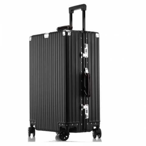 116 MATOM Vintage Version of All Aluminum Magnesium Alloy Suitcase – Black 35CM*22CM*55CM 20Inch Gearbest Coupon Promo Code