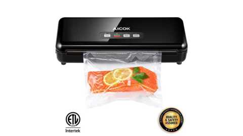 Aicok Vacuum Sealer - Aicok Vacuum Sealer Machine Amazon Coupon Promo Code