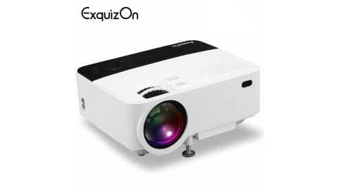 Exquizon T5 Mini - Exquizon T5 Mini LCD Projector Gearbest Coupon Promo Code
