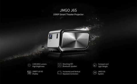 JMGO J6S - JMGO J6S 4K Projector Gearbest Coupon Promo Code [US Warehouse]