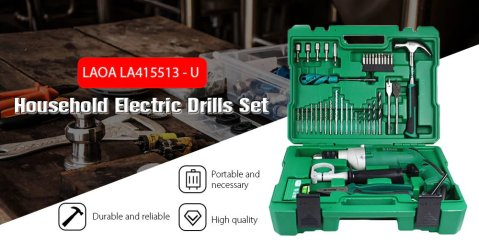 LAOA LA415513 U - LAOA LA415513 - U Drill Set Gearbest Coupon Promo Code