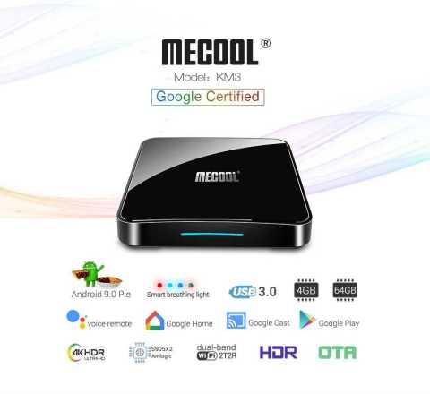 mecool km3 tv box