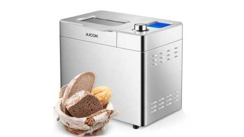 Aicok 2 Pound Programmable Bread Maker Machine - Aicok 2 Pound Programmable Bread Maker Machine Amazon Coupon Promo Code