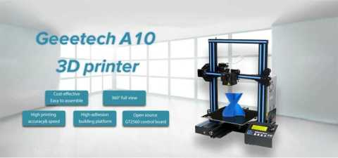 Geeetech A10 - GEEETECH A10 3D Printer Amazon Coupon Promo Code