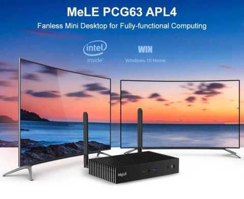 MeLe PCG63 APL4 Fanless Mini PC - MeLe PCG63 APL4 Fanless Mini PC Gearbest Coupon Promo Code