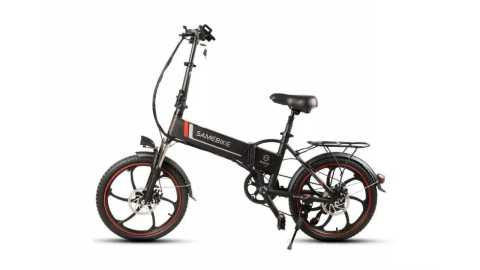Samebike XW 20LY - Samebike XW-20LY 350W Smart Folding Electric Bike Banggood Coupon Promo Code