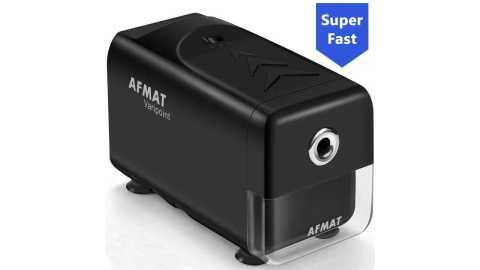 AFMAT Electric Pencil Sharpener - AFMAT Electric Pencil Sharpener Heavy Duty Amazon Coupon Promo Code