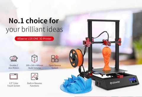 Alfawise U20 ONE 3D Printer