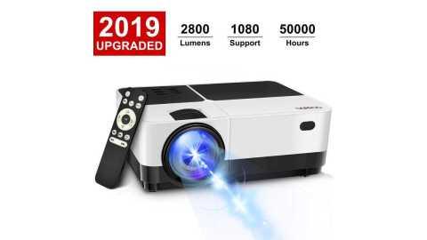 GEARGO 2800 Lumens HD Portable Projector - GEARGO 2800 Lumens HD Portable Projector Amazon Coupon Promo Code