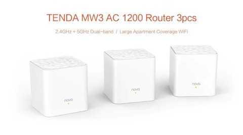 tenda nova mw3 home mesh wifi system 3pcs