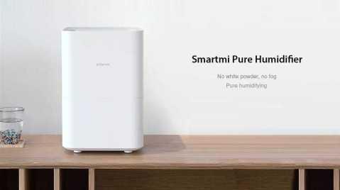 Xiaomi Smartmi Evaporation Air Humidifier - Xiaomi Smartmi Evaporation Air Humidifier 4L Banggood Coupon Promo Code [Czech Warehouse]