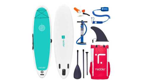 """redder Inflatable Stand Up Paddle Board Zen - REDDER Inflatable Stand Up Paddle Boards ZEN 10'8"""" Yoga iSUP Amazon Coupon Promo Code"""