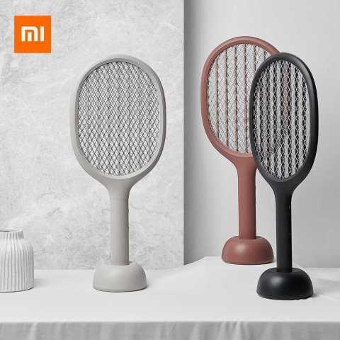july 15 2019 16 99 solove p1 electric mosquito swatter insect bug fly mosquito dispeller 360nm uv light double size anti electric shock net from xiaomi youpin banggood coupon promo code - Xiaomi SOLOVE P1 Electric Mosquito Swatter Banggood Coupon Promo Code