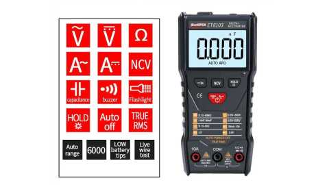 APEXEL ET8103 - APEXEL ET8103 Full Intelligent Digital Multimeter Gearbest Coupon Promo Code