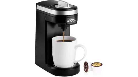 Aicok Single Serve Coffee Maker - Aicok Single Serve Coffee Maker Amazon Coupon Promo Code