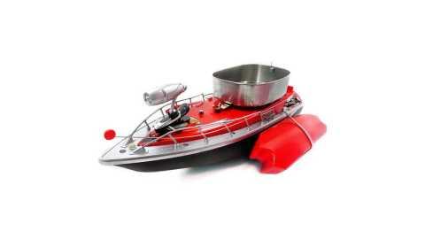 flytec rc fishing bait boat