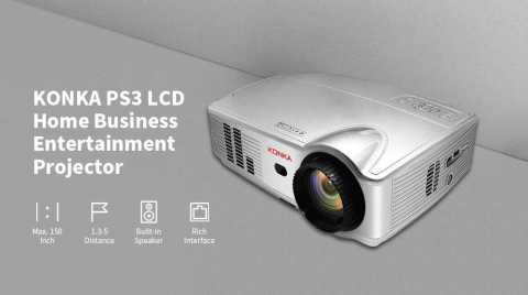 KONKA PS3 Projector - KONKA PS3 LCD Projector Gearbest Coupon Promo Code