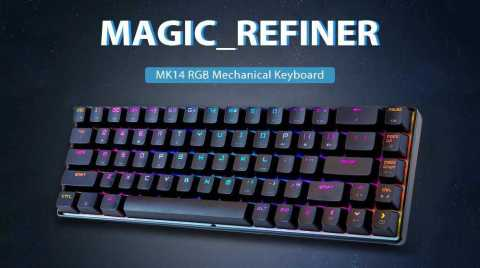 magic _ refiner mk14 mechanical keyboard