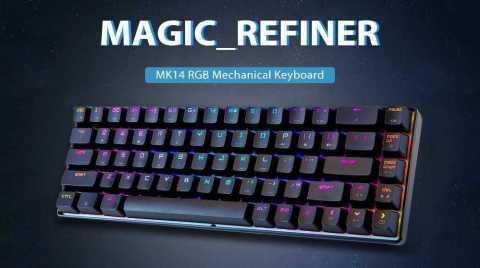 magic _ refiner mk14 mechanical keyboard