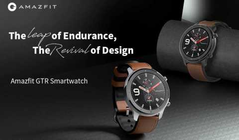 Xiaomi AMAZFIT GTR - Xiaomi AMAZFIT GTR Smart Watch Banggood Coupon Promo Code [47mm]