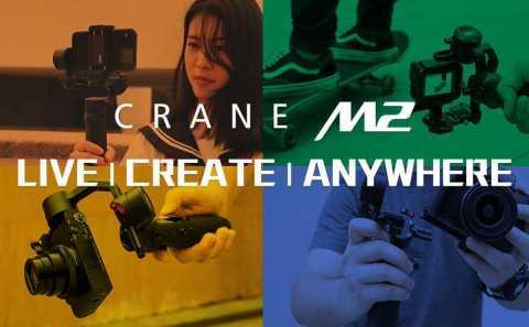 Zhiyun Crane M2 Handheld 3-Axis Gimbal Stabilizer Amazon Coupon Promo Code