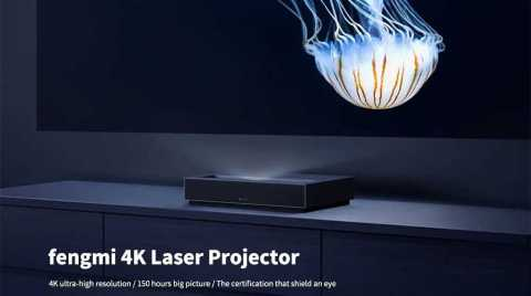 xiaomi fengmi 4k laser projector