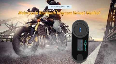 gocomma TCOM – SC Motorcycle Intercom Headset Gearbest Coupon Promo Code