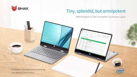 BMAX Y11 Laptop - BMAX Y11 Laptop Banggood Coupon Promo Code [N4100 8+256GB] [Czech Warehouse]