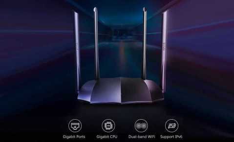 tenda ac8 1200m wireless 5g intelligent router