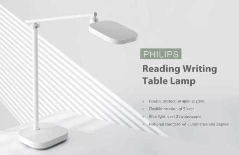 xiaomi philips reading writing table lamp