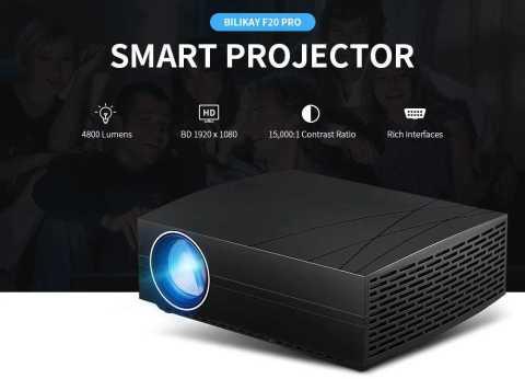 bilikay f20 pro smart projector