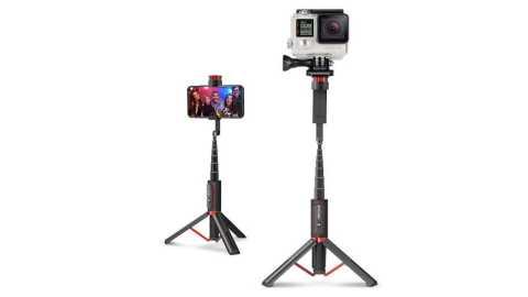 BlitzWolf BW-BS10 Sport Portable Tripod Selfie Stick Banggood Coupon Promo Code