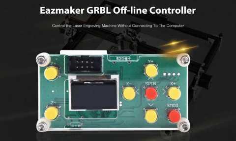 Eazmaker GRBL Off line Controller - Eazmaker GRBL Off-line Controller with Mainboard Gearbest Coupon Promo Code