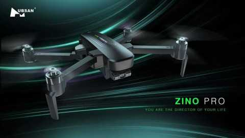 Hubsan ZINO PRO - Hubsan ZINO PRO RC Drone Banggood Coupon Code [Storage Bag+2/3 Batteries] [Spain Warehouse]