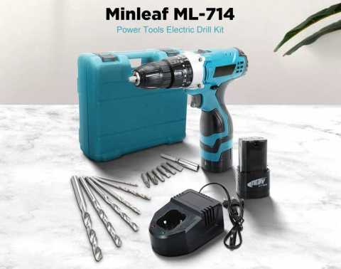Minleaf 12V 16 8V Impact Electric Drill - Minleaf ML-714 Impact Electric Drill Banggood Coupon Promo Code