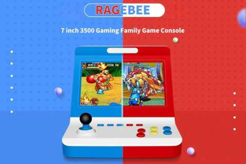 ragebee game console 7 inch 3500 gaming